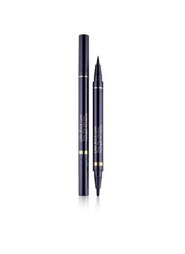 Estée Lauder Estã©E Lauder Little Black Liner 2 Uçlu 3 Görünüm Sağlayan 12 Saat Kalıcı 01 Onyx Eyeliner Renksiz
